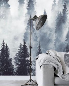 Panoramique Esta Home Photowalls XL² forêts brumeuses 158909
