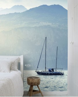 Panoramique Esta Home Photowalls XL² Voilier Bleu 158850