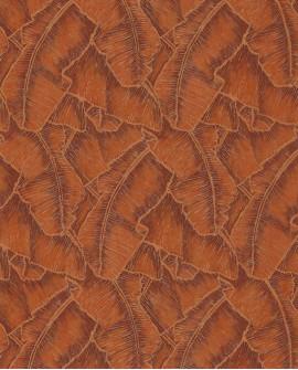 Papier peint tropical Cuba Selva Orange CBBA84323328