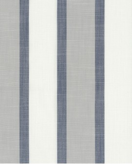 Tissu rayures maritimes Casadeco Rivage Lexington Bleu RIVG84226308