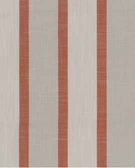 Tissu rayures maritimes Casadeco Rivage Lexington Rouge RIVG84228211