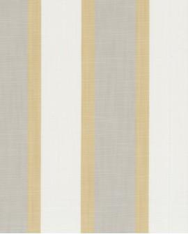 Tissu rayures maritimes Casadeco Rivage Lexington Jaune RIVG84222315
