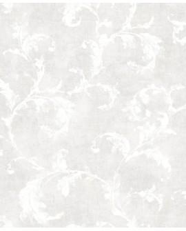 Papier peint Casadeco Montségur Arabesques Blanc MTSE80790218