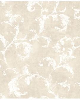 Papier peint Casadeco Montségur Arabesques Beige MTSE80791212