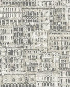 Papier peint Casadeco Montségur Edifice Beige MTSE86050423