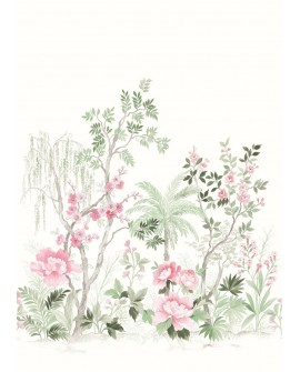Panoramique Art Déco Beauty Full Image Japanese Garden Vert BFI101547100