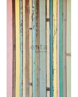 Panoramique Esta Home Photowalls XL² Planches de Bois peint 157703