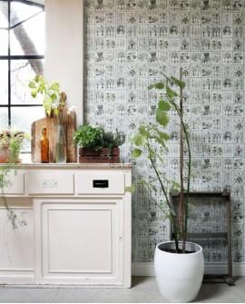 Panoramique Esta Home Photowalls XL² Livre Botanique 158826