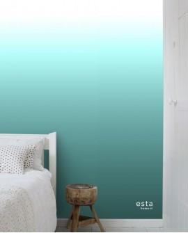 Panoramique Esta Home Photowalls XL² Dégradé Turquoise 158820