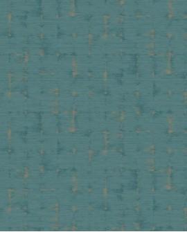 Papier peint faux uni Casadeco Utopia Fiction Turquoise UTOP85156387
