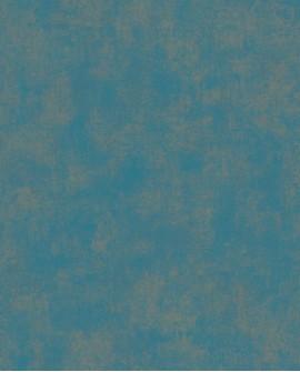 Papier peint Casadeco Montségur Uni Bleu Paon MTSE80836267