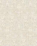 Papier peint Lutèce Abby Rose 4 Paisley Jaune AF37730