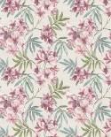 Papier peint floral Lutèce Abby Rose 4 Jasmin Rose foncé AF37724