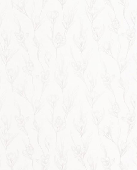 Papier peint fleur Caselio The Place to be(d) Day Dream Blanc PTB101780020