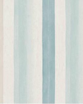 Papier peint Casadeco Marina Rayure Turquoise MRN25127225