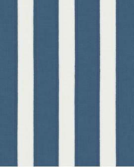 Papier peint Casadeco Marina Rayure Bleu MRN25116107