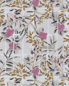 Papier peint Jardins Suspendus Casadéco Camélia Rose JDSP85234224