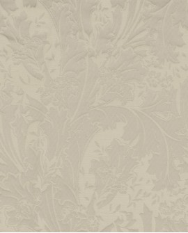 Tissu arabesques Oxford Casadeco Elisabeth Taupe OXFD84271101