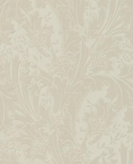 Tissu arabesques Oxford Casadeco Elisabeth Beige OXFD84271303