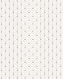 Papier peint géométrique Scarlett Caselio MISTINGUETT BLANC BEIGE IRISE SRL100430110