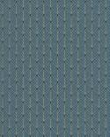 Papier peint géométrique Scarlett Caselio MISTINGUETT BLEU CANARD OR SRL100436053