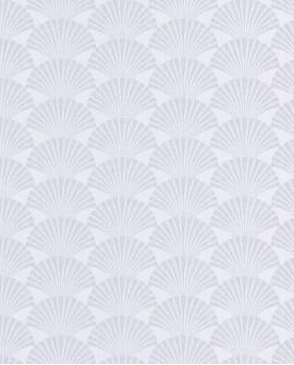 Papier peint géométrique Caselio SCARLETT PEARL BLANC ARGENT SRL100490198