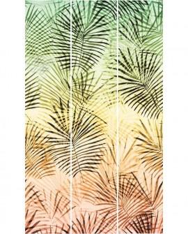 Panoramique exotique Lutèce Bensimon California Nostalgie Grandes feuilles 27170204