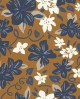 Papier peint exotique Lutèce Bensimon Hawai Noisette 51200711