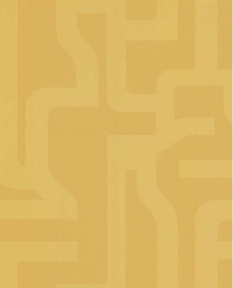 Papier peint Lutèce Bensimon Géométrique Jaune 51201102