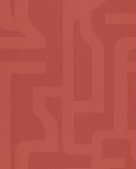 Papier peint Lutèce Bensimon Géométrique Corail 51201105