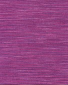Papier peint uni Wara imitation paille japonaise Violine WARA69585245