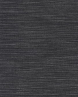 Papier peint uni Wara imitation paille japonaise Noir WARA69589790