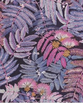 Papier peint tropical Botanica Casadeco Albizia Violine BOTA85895328