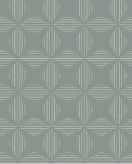 Papier peint géométrique Lutece Séjours et Chambres Telestar Sauge FD25511