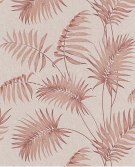 Papier peint tropical Lutece Séjours et Chambres Palmes Cuivre 11190903