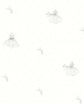 Papier peint enfant Lutèce Tartine & Chocolat Ballerine 12091203