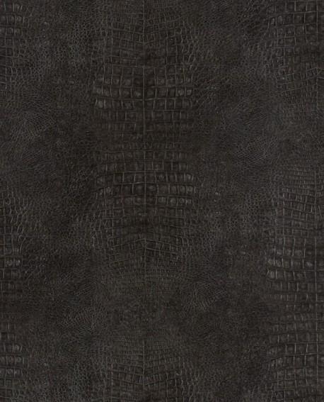 Papier peint Lutèce Sauvage Crocodile Noir G67510