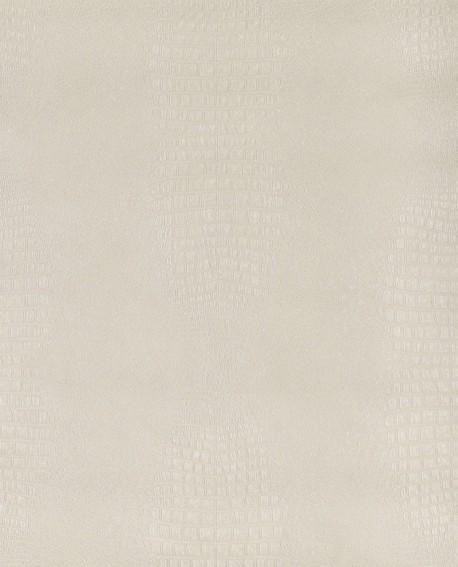 Papier peint Lutèce Sauvage Crocodile Blanc G67508