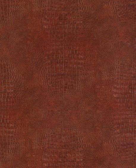 Papier peint Lutèce Sauvage Crocodile Rouge G67511
