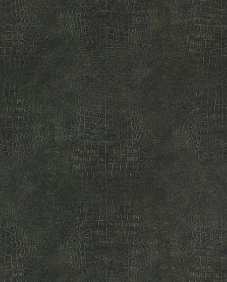 Papier peint Lutèce Sauvage Crocodile Vert G67505
