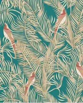 Papier peint exotique Caselio Dream Garden Enchantment Vert DGN102257130