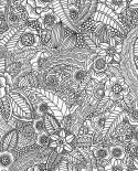 Papier peint Esta Home Cabana Flower Noir 148616