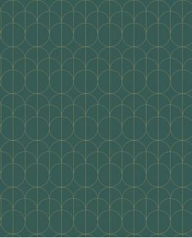 Papier peint géométrique Casadeco Relief Vert PP-CAS-MNCT85697505