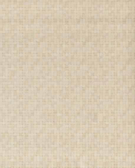 Papier peint Lutèce Sauvage Mosaïque Jaune G67414