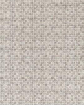 Papier peint Lutèce Sauvage Mosaïque Gris G67420