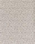 Papier peint Lutèce Sauvage Mosaïque Gris métallisé G67420