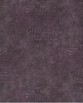 Papier peint Lutèce Sauvage Crocodile Violet G67506
