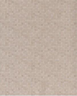 Papier peint Lutèce Sauvage Mosaïque Grège G67415
