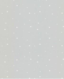 Papier peint enfant Lutèce Tartine & Chocolat Etoiles fond gris 36131109
