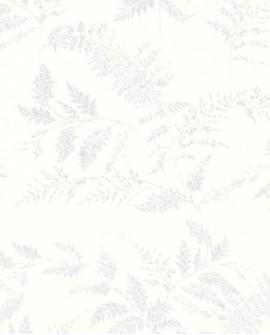 Papier peint enfant Lutèce Tartine & Chocolat Fougère Gris 36200509